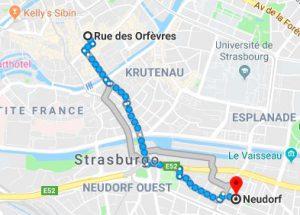 Strasburgo - Credit: googlemaps
