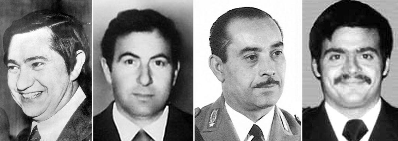 Pierluigi Torreggiani, Lino Sabbadin, Antonio Santoro e Andrea Campagna