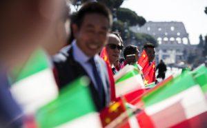 Xi Jinping Mattarella Roma