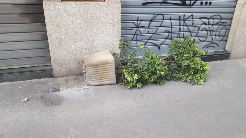 Vento forte a Milano
