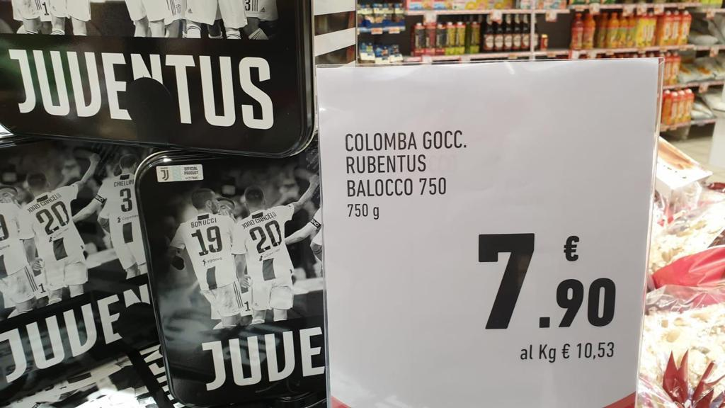Colomba Rubentus Conad