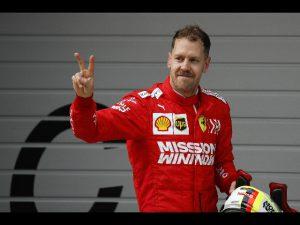 Ferrari vettel baku
