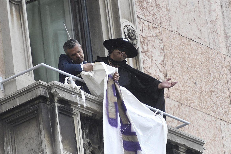 Salvini Zorro Milano
