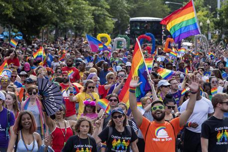 Gay Pride: momenti di paura a Washington, si pensava a spari