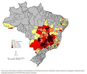 brasile dengue casi