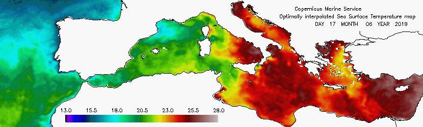 mare italia spagna situazione