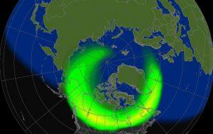 tempesta geomagnetica aurora