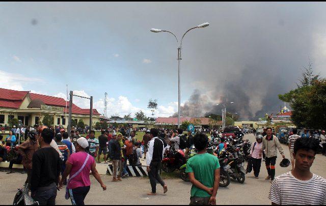 Scontri a Papua, 27 morti