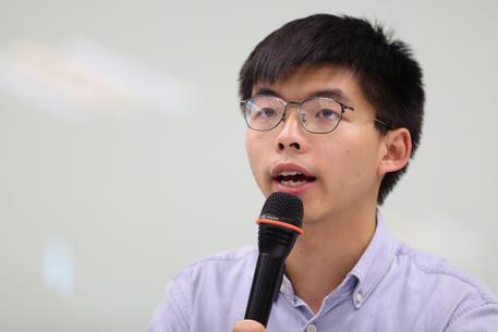 Hong Kong, l'attivista pro-democraziaJoshua Wong