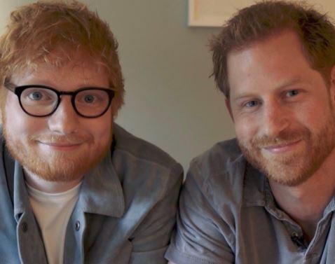 Ed Sheeran incontra il principe Harry