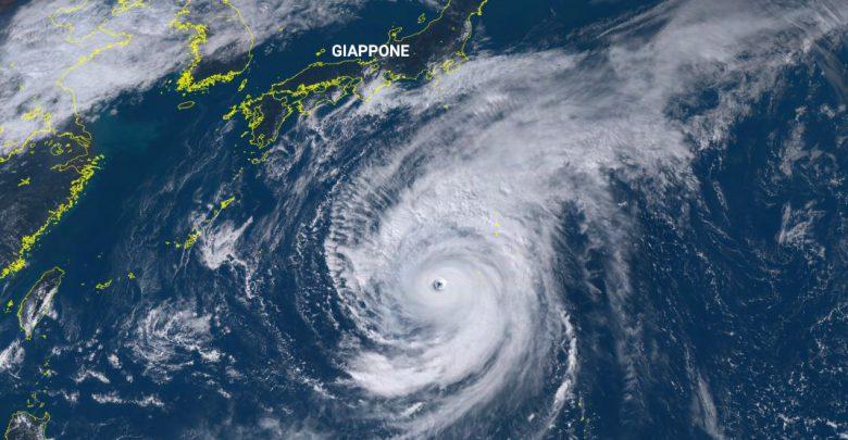 Il Super tifone Hagibis minaccia il Giappone
