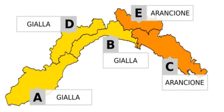maltempo in Liguria