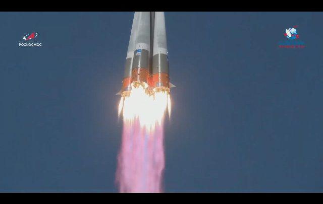 Decollata missione spaziale congiunta Usa-Federazione Russa verso la stazione ISS