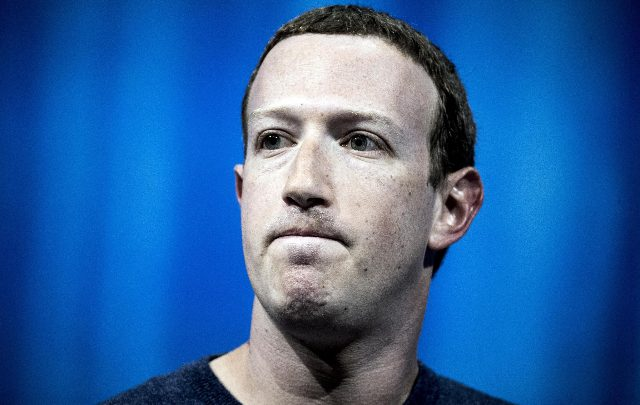Mark Zuckerberg, fondatore di Facebook. Foto ANSA