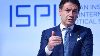 Giuseppe Conte. Foto ANSA