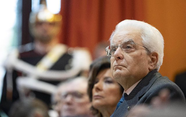 """Mattarella, Bilancio Stato è """"bene pubblico"""". Foto ANSA"""