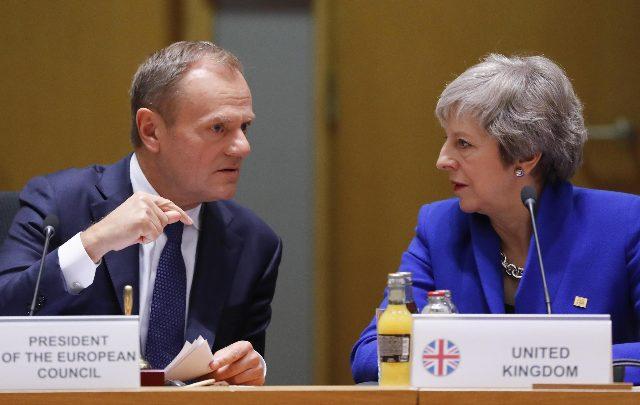 """Brexit, scetticismo del Tesoro: """"avrà impatto negativo per 15 anni"""". Foto ANSA"""