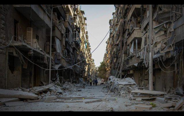 Siria, la Russia e il governo di Damasco creano due corridoi umanitari. Foto ANSA