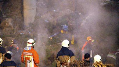 Svizzera, incendio in una palazzina: sei morti fra cui alcuni bambini. Foto ANSA