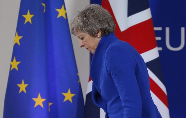 Brexit, ok dall'UE all'accordo di divorzio. Foto ANSA