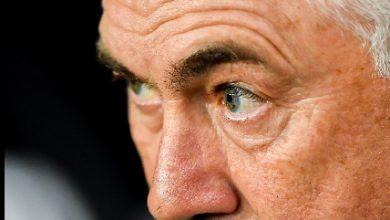 Carlo Ancelotti. Foto ANSA