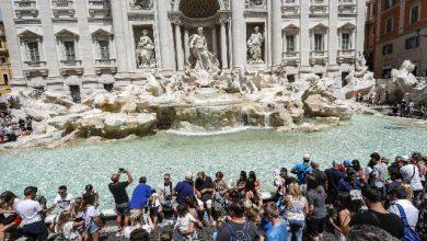 Fontana di Trevi, Roma. Foto ANSA