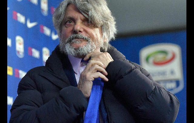 Massimo Ferrero. Foto ANSA