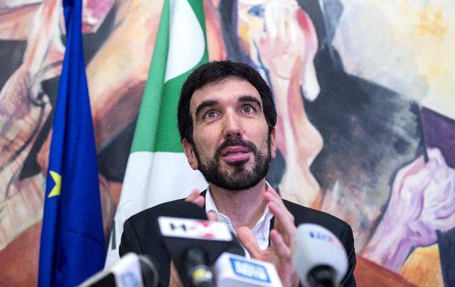 Maurizio Martina. Foto ANSA