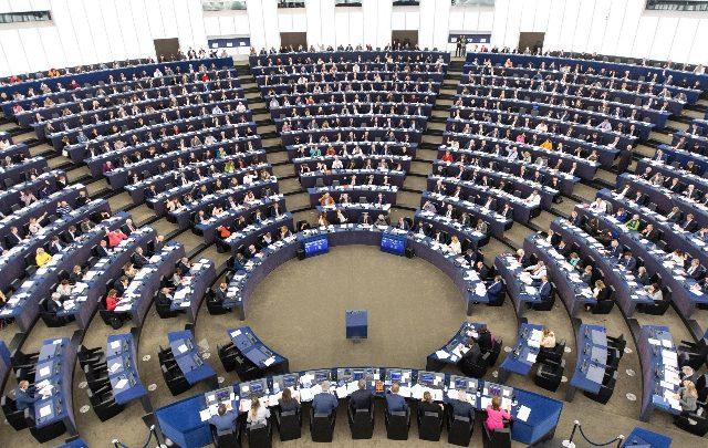 Il Parlamento Europeo. Foto ANSA