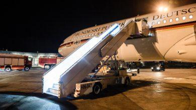 G20, aereo di Merkel in panne. Non si esclude un sabotaggio. Foto ANSA