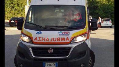 Mezzi di soccorso in azione