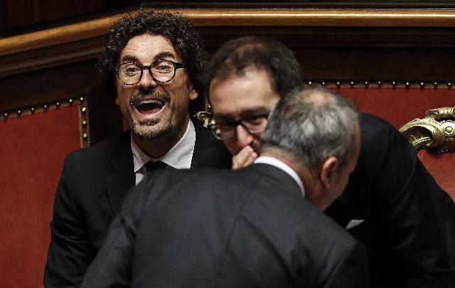Danilo Toninelli. Foto ANSA