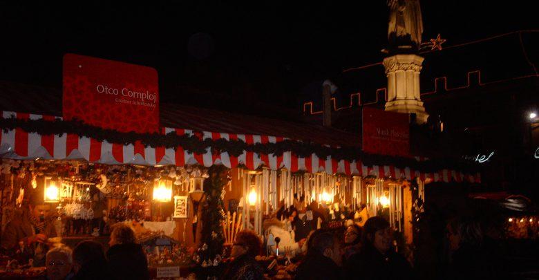 Inaugurato il mercatino di Natale di Bolzano. Foto Wikipedia
