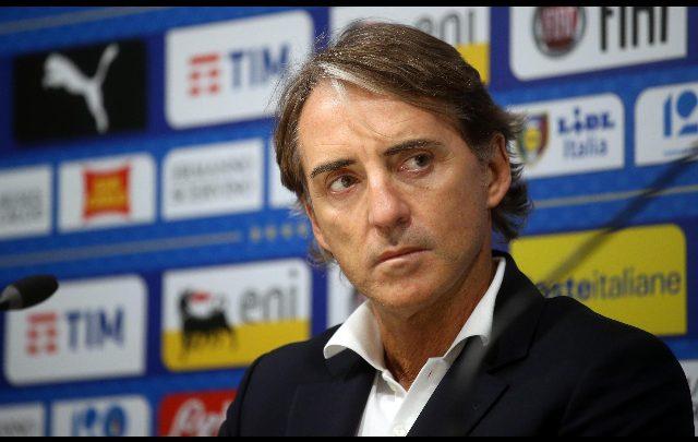 Roberto Mancini, allenatore Italia. Foto ANSA