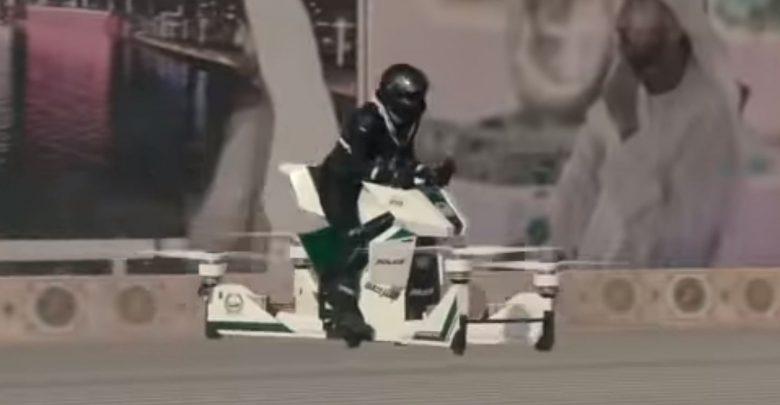 Polizia volante a Dubai dal 2020