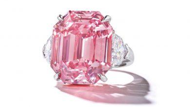 Diamante rosa Pink Legacy venduto a una cifra record - Crediti: Christie's