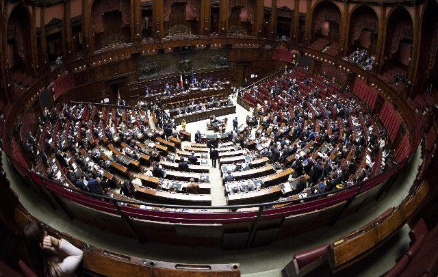 La Camera dei deputati. Foto ANSA