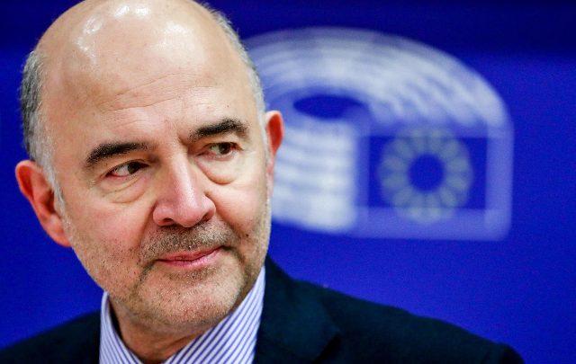 Il Pierre Moscovici Ue debito europeo Pierre Moscovici. Foto ANSA