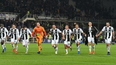 La Juventus vittoriosa Foto ANSA