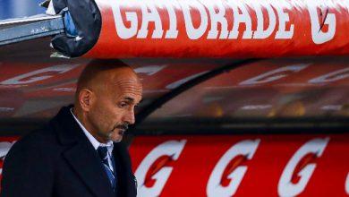 L'allenatore dell'Inter, Luciano Spalletti. Foto ANSA