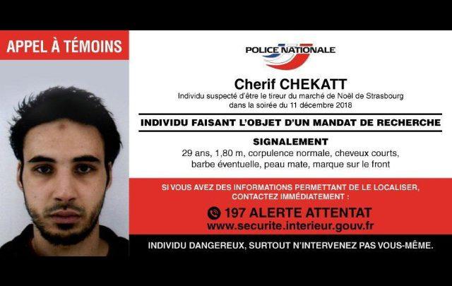 Strasburgo, Cherif Chekatt è stato ucciso