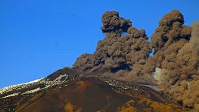 Vulcano Etna. Foto Ansa