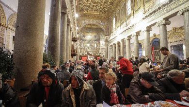Natale, 60.000 ai Pranzi con i poveri di Sant'Egidio