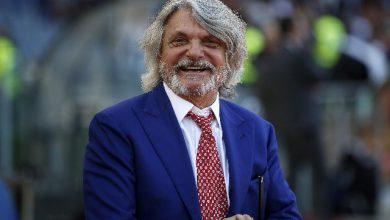 Sampdoria, dissequestrati i beni di Ferrero