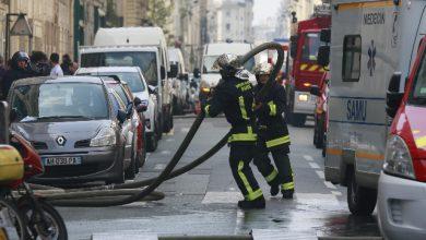 Parigi incendio