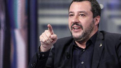 Matteo Salvini, la soddisfazione del ministro dopo il successo dell'operazione 'Mogadiscio'. Foto ANSA