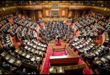 Decretone, via libera del senato. Foto ANSA