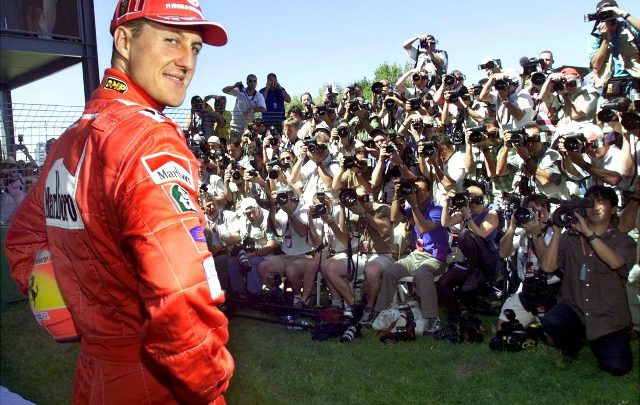 Michael Schumacher. Foto ANSA