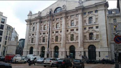 La Borsa di Milano in Piazza Affari. Foto ANSA