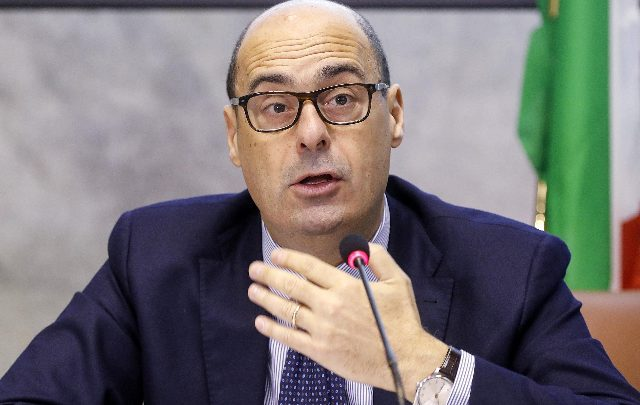 Il presidente della Regione Lazio Nicola Zingaretti